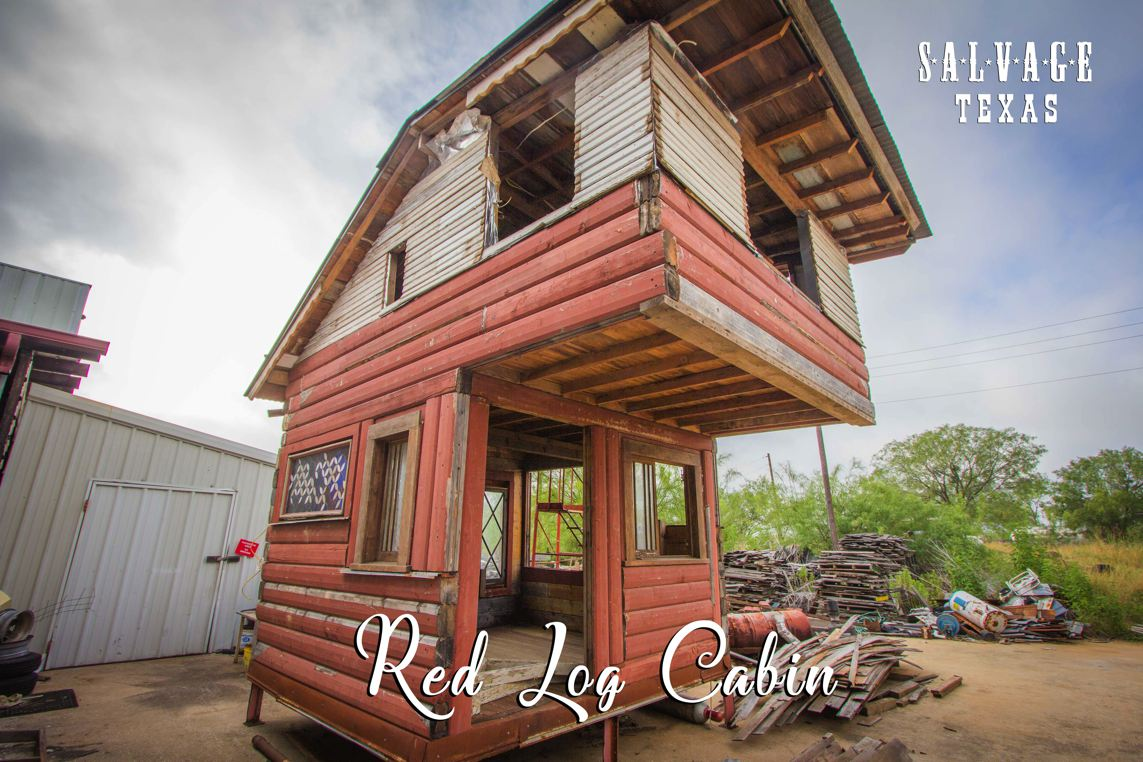 tiny texas houses. The Red Log Cabin Is A New House Currently Under Construction In Manifestation Bay At Tiny Texas Houses. Houses